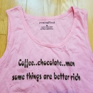 Some Things Are Better Rich Tank Top